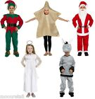 Childrens Christmas Nativity Party Fancy Dress Costume Outfit Kids Girls Boys