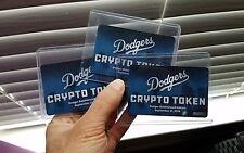 ALL 3- LA Dodgers 2018 Digital Bobbleheads Crypto Tokens 9/21/18-- COMPLETE SET