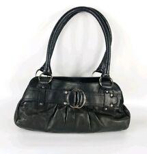 Next Black Leather Medium Handbag 30cm X 19cm