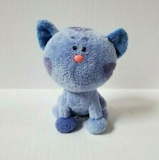"""New ListingBlues Clues Periwinkle Cat Plush 6"""" Ty Beanie Baby"""