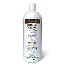 Moroccan Keratin Brazilian Blowout hair Treatment GOLD SERIES 1000ml bottle USA