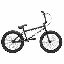 """Kink 2021 Curb 20"""" Complete BMX Bike - Matte Dusk Black"""