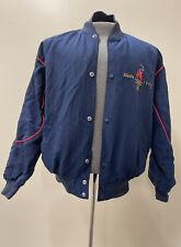 Vintage 90's Starter 1996 Atlanta Olympics Snap Up Bomber Jacket Large FS Chrty