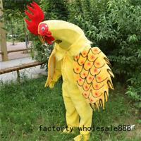 Cock Mascot Costume suits adults size fancy dress Xmas Hallooween Reenactmen NEW