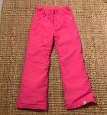 Roxy Girls Ski Pants Size 10 Pink