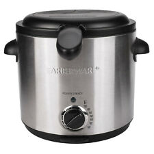 NEW Farberware 1.5 Liter Stainless Steel Food Oil Deep Fryer Model # FW-DF808