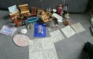 Dolls House Furniture Inc Lundby, Family, Lighting, Clocks, diecast