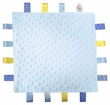 Baby comforter taglet blankie Blue
