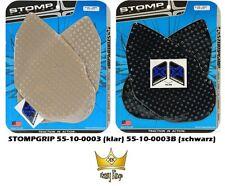 STOMPGRIP Traction Tank Pads YAMAHA YZF-R6  Typ: RJ03  Bj. 99-02 klar schwarz