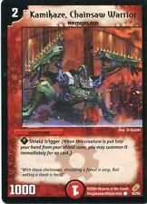 Duel Masters-Karte - Kamikaze, Chainsaw Warrior