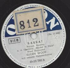 Eugen Wolff Orchester : Maske in Blau Fred Raymond  -  Sassa