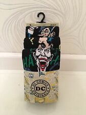 NEW DC COMICS ORIGINAL 3 PK MENS SOCKS-THE JOKER,THE RIDDLER,THE PENGUIN-UK 6-11