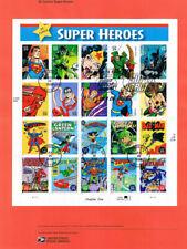 #0637 39c DC Super Heroes  MS20 #4084 Souvenir Page