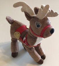 Hallmark Polar Express Small Reindeer Plush Warner Bros Christmas
