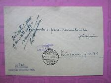 Latvia Postal History  Cover with  JAUNLATGALE  cancel y1939 sent without STAMP