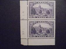 (Sep 110) Canada stamp block, nbr 193, unused MH