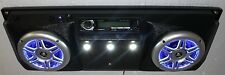 Golf Cart Radio Overhead System Lighted Marine Speakers Awesome Sound!