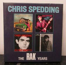 CHRIS SPEDDING ~ The RAK Years ~ 4 x CD ALBUM BOX SET