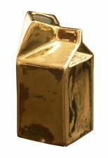 Brand New Seletti Italy Gold Estetico Quotidiano Milk Jug Set Of 6