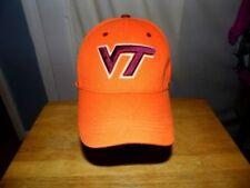 Men's Virginia Tech Orange Wool Stretch Fit Baseball Hat Top of the World Sz M