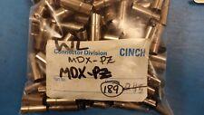(10 PCS) MDX-PZ CINCH Circular DIN Connectors MINI DIN SHELL