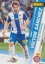 N°119 VICTOR SANCHEZ # RCD.ESPANYOL OFFICIAL TRADING CARD PANINI LIGA 2013