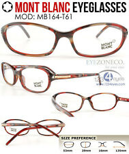 [EyezoneCo] MONT BLANC Eyeglass MB164-T61 (53mm) Full-Rim Demi Multi-Color Frame