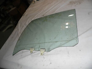 OEM 99 Nissan Maxima Rear Driver's Side Door Window Glass Panel Assembly, LH