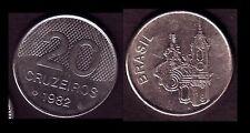 ★★ BRESIL ● 20 CRUZEIROS 1982 ● E6 ★★