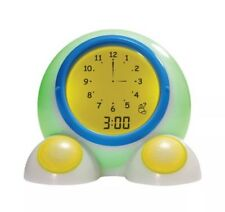 American Innovative Teach Me Time Talking Alarm Clock And Nightlight Onaroo