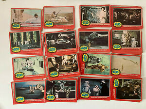 Topps STAR WARS Trading Cards 1977 Series 2 - Red - 77 Cards