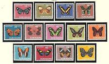 Luchtpost LP 47 - LP 59 MNH PF Suriname 1972 vlinders butterflies airmail