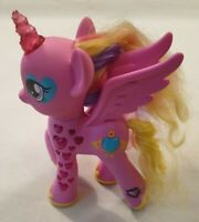 My Little Pony Light Up Hearts Figure Talking Princess Cadence Pink Hasbro 2014