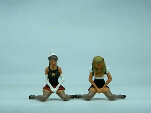"""1/32 (54mm) scale female figures """"He didn't turn up then?"""""""