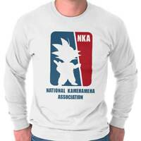 National Kamehameha Association Dragon TV Mens Long Sleeve Tee Shirts TShirt