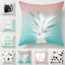 Pink Cushion Cover Geometric Dreamlike Pillow Case Throw Home Car Decor Rose
