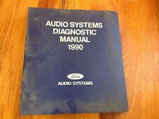 1990 Ford Truck Car Oem Dealer Radio Sound System Troubleshooting Manual