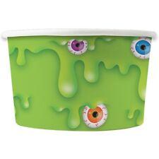 24x PAPER TREAT TUBS Slime Ice Cream Dessert Sweet Snack Jelly Food Holder Bowl