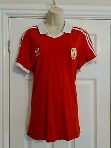 Adidas Retro Replica Man Utd Football Shirt Size Medium