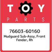 Genuine Toyota Tacoma Driver para-lamas Dianteiro 76622-04094 inclui 3 90467-07188