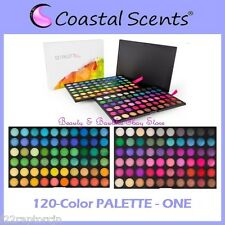 NEW Coastal Scents 120-Color PALETTE ONE Eye Shadow FREE SHIPPING 1st First BNIB
