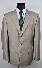 HUGO BOSS SILK & WOOL Blazer UK 42 Coat Sport Jacket Suit EUR 52 Gr. Sakko Jacke