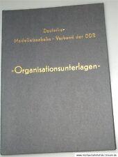 Deutscher Modelleisenbahn Verband der DDR Organisationsunterlagen Stand 1978  å