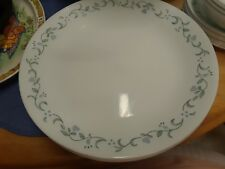 "CORELLE COUNTRY COTTAGE 10-1/4"" SET OF 5 DINNER PLATES LAVENDER HEARTS/FLOWERS"