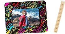 New Scratch Art Large Photo Frame Magnet (pack of 10), Au Seller