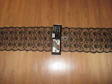 "NWT Halloween Skull & Crossbones Mantle/Table Runner 134 x 72"" -Lace with Danger"