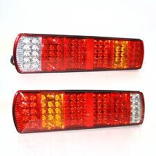 2 X 24V LED LUCI POSTERIORI FARI NEBBIA camion telaio per Scania Volvo Daf