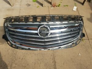 2013-2016 Vauxhall Insignia Facelift Front Upper Grill