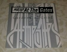"AT THE GATES - gardens of grief 7"" yellow vinyl"