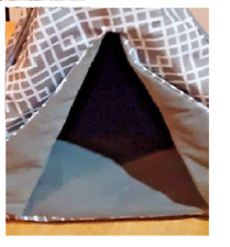 """Padded Cat Pyramid , Pet Bed SportPet Designs 20"""" Small Dog Tent"""